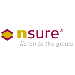 X250 nsure logo  cmyk registrated. listen